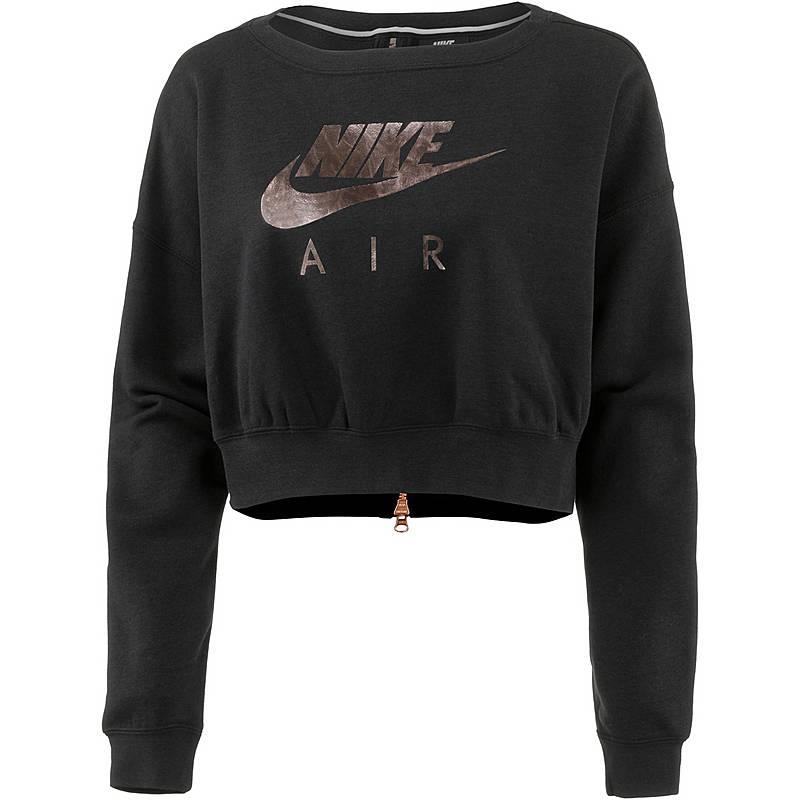 Nike Sweatshirt Damen Blackrose Gold Im Online Shop Von Sportscheck