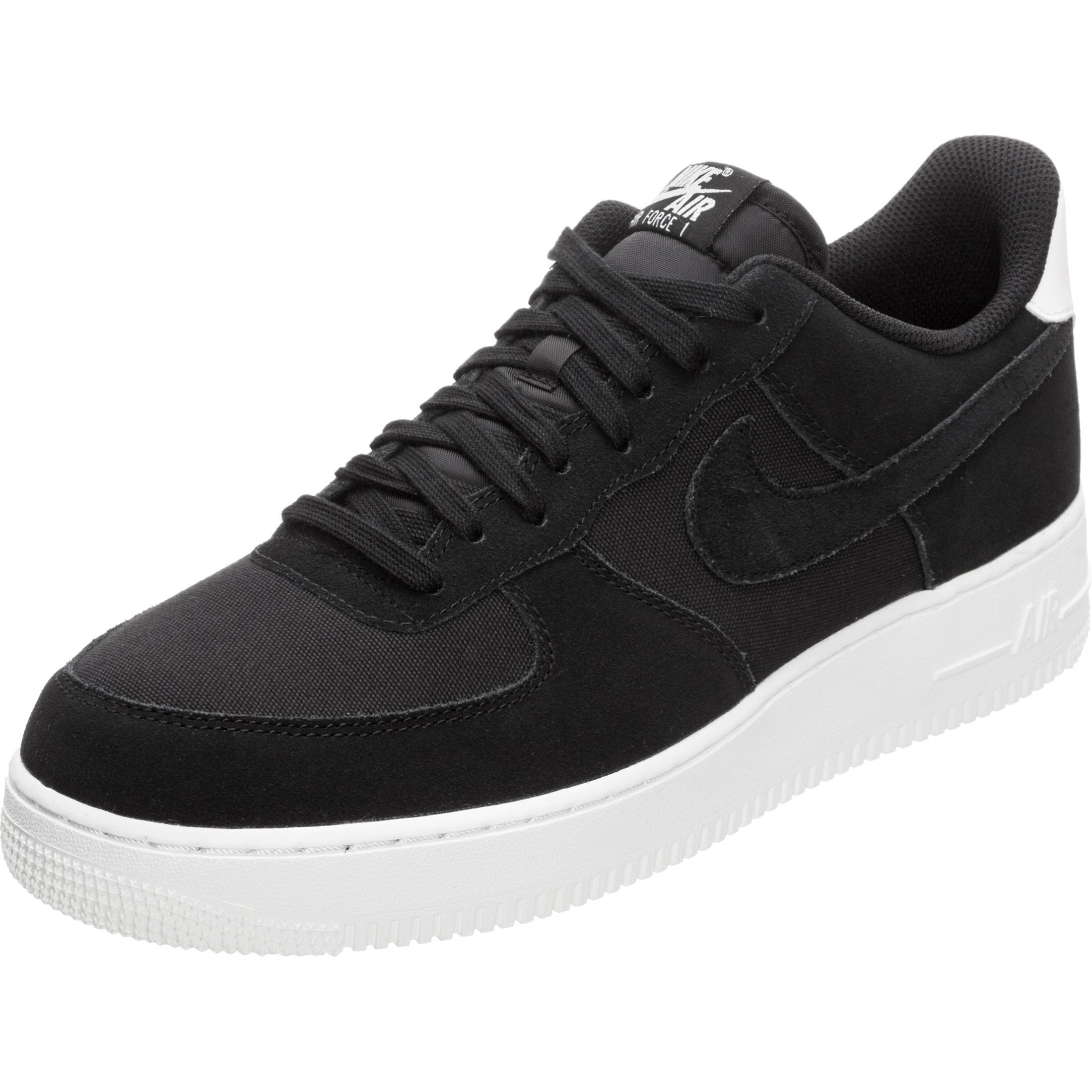 2019 original zur Freigabe auswählen sehen Nike Air Force 1 '07 Suede Sneaker Herren schwarz / weiß im Online Shop von  SportScheck kaufen