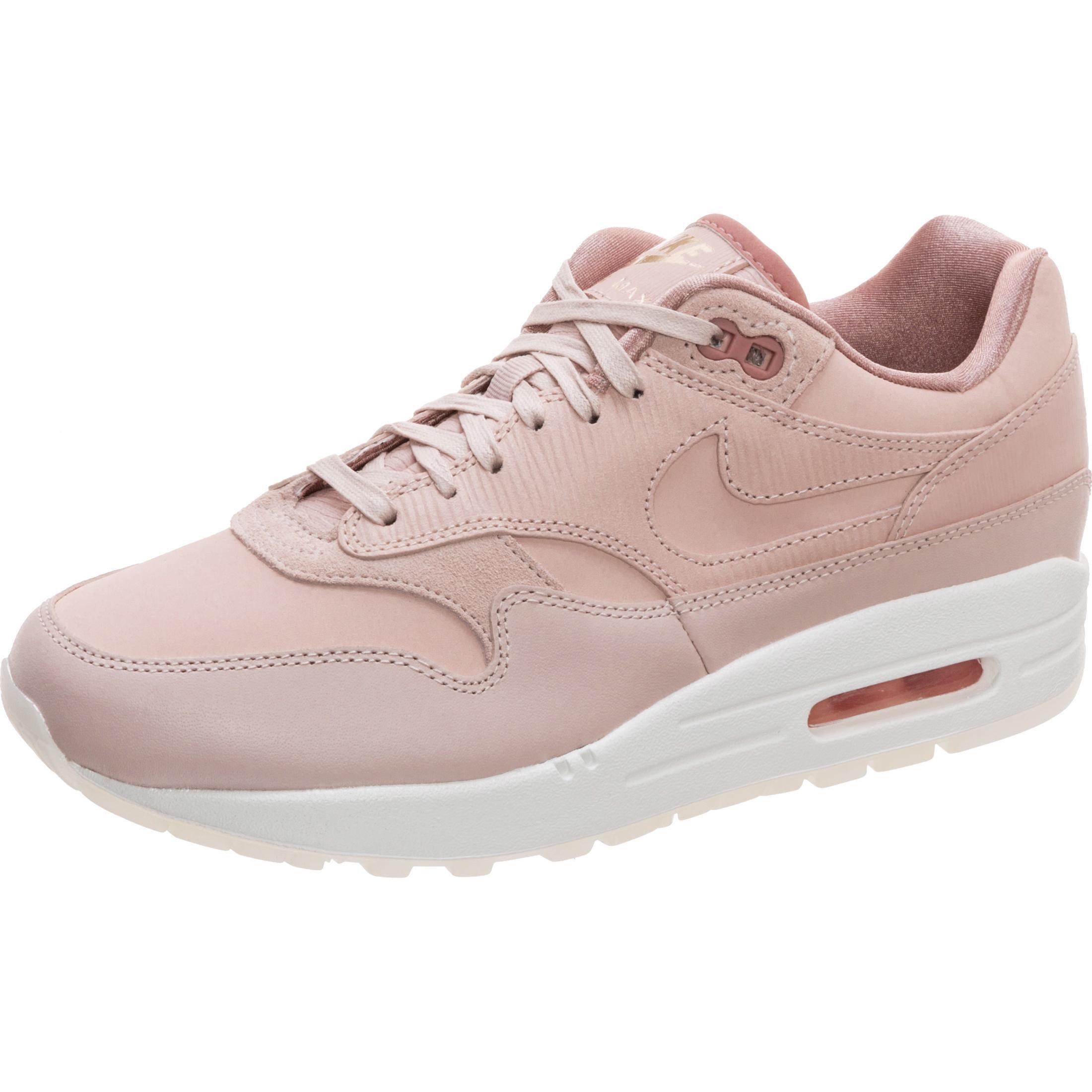 brand new 22c43 4a32d Nike Air Max 1 Premium Sneaker Damen rosa / weiß im Online Shop von  SportScheck kaufen