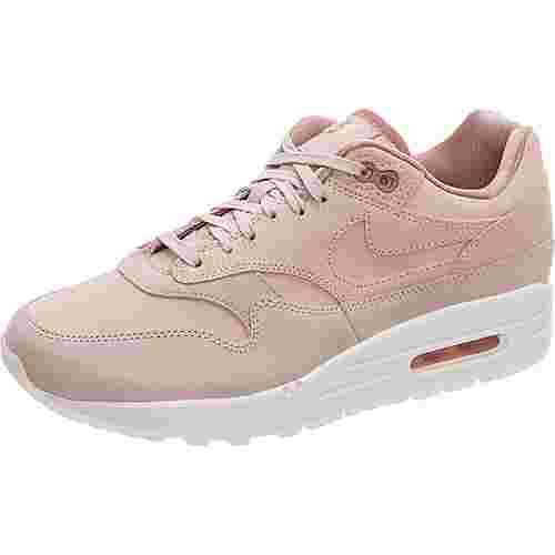 sale retailer 51cad fb1d2 Nike Air Max 1 Premium Sneaker Damen rosa  weiß