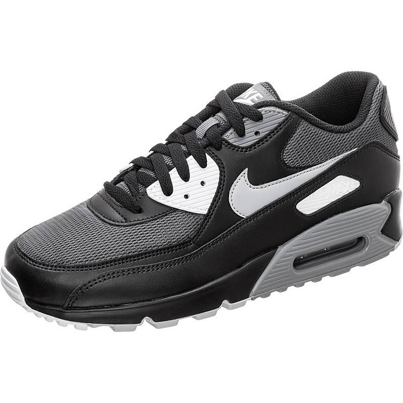 hot sale online d87ae 4f5aa Nike Air Max 90 Essential Sneaker Herren schwarz  grau