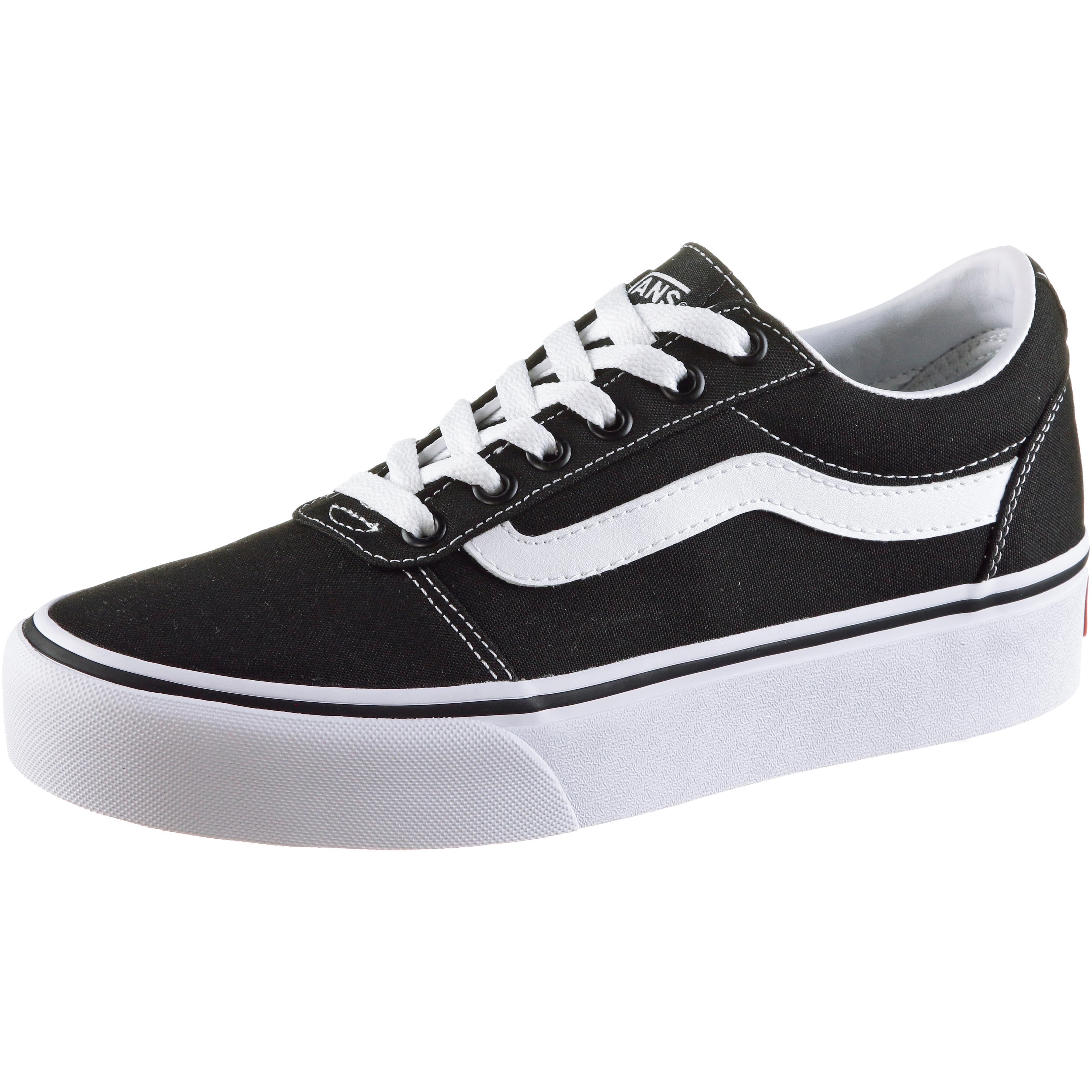 Vans Ward Platform Turnschuhe Damen schwarz-Weiß im Online Shop von SportScheck kaufen Gute Qualität beliebte Schuhe