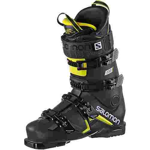 Salomon ALP. BOOTS S/MAX 110 Skischuhe Herren Black/Acid Green/Wh