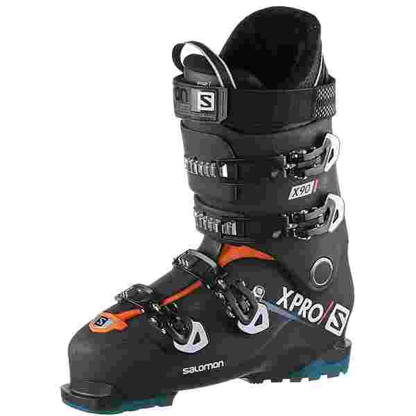 Salomon ALP. BOOTS X Pro X90 CS Skischuhe Herren Black/White/Blue