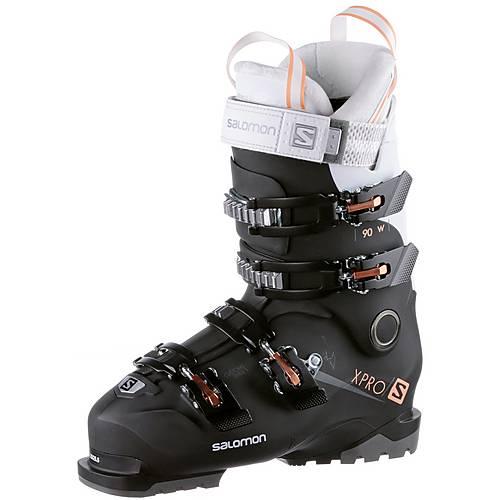Salomon ALP. BOOTS X PRO 90 W Skischuhe Damen BlackWhiteCorail im Online Shop von SportScheck kaufen R0pTm