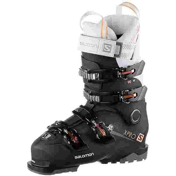 Salomon ALP. BOOTS X PRO 90 W Skischuhe Damen Black/White/Corail