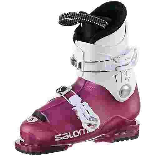 Salomon ALP. BOOTS T2 RT Skischuhe Kinder Girly Pink/ Wh