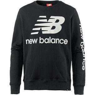 NEW BALANCE Sweatshirt Herren black