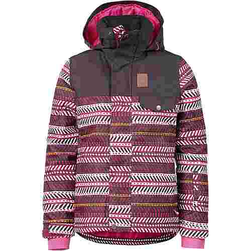 Protest Snowboardjacke Kinder beet red