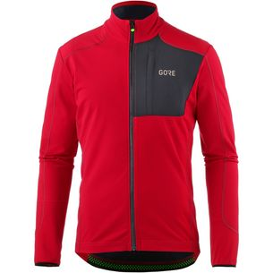 GORE® WEAR C5 Thermo Trail Jersey Fahrradtrikot Herren red/black