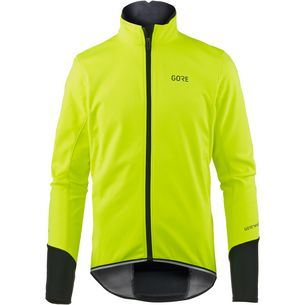 GORE® WEAR C5 Gore Windstopper Thermo Jacket Fahrradjacke Herren neon yellow/black