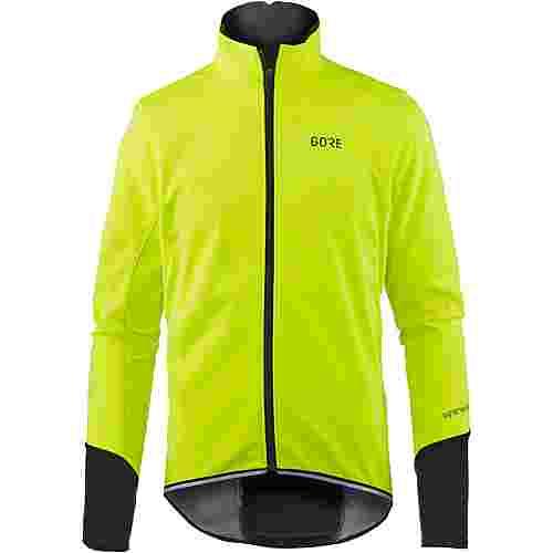 GORE® WEAR C5 Gore Windstopper Thermo Jacket Fahrradjacke Herren neon yellow/black