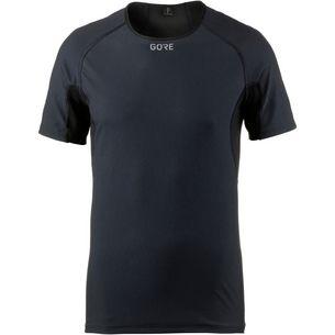 GORE® WEAR M Gore Windstopper Base Layer Funktionsshirt Herren black