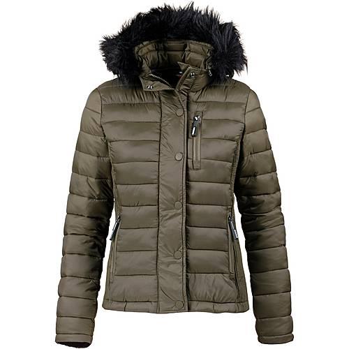 new product 3632f 7b971 Superdry Steppjacke Damen olive im Online Shop von SportScheck kaufen