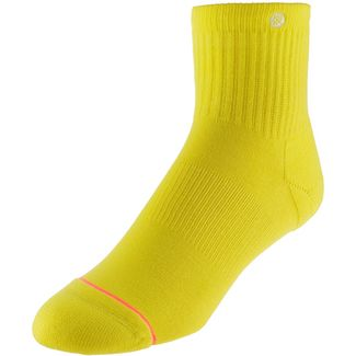 Stance Uncommon Classic Lowrider Sneakersocken Damen yellow