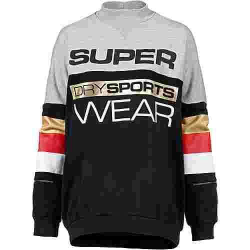 Superdry Sweatshirt Damen sport marl-sport black