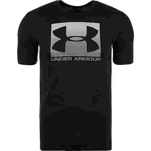 Under Armour HeatGear Boxed Sportstyle Funktionsshirt Herren schwarz / grau