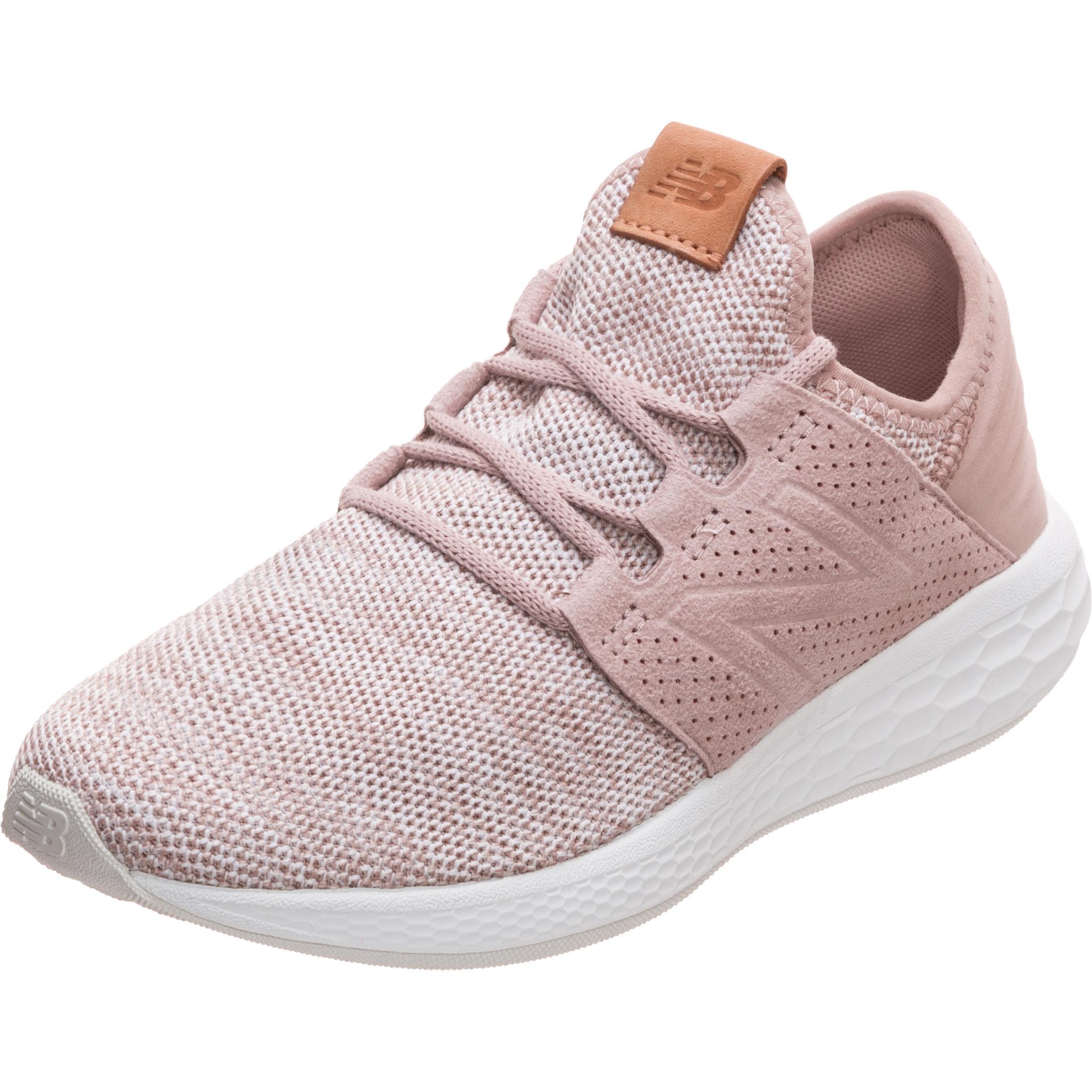 NEW BALANCE Fresh Foam Cruz v2 Knit Laufschuhe Damen rosa / weiß im Online  Shop von SportScheck kaufen