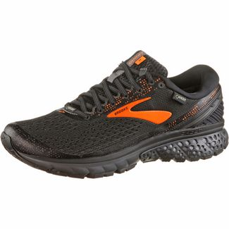 Brooks Ghost11 GTX® Laufschuhe Herren black-orange-ebony