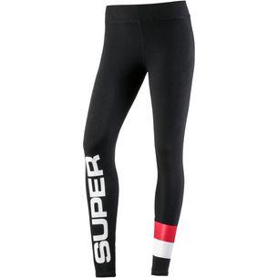 Superdry Leggings Damen sport black