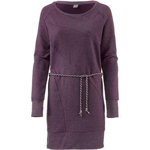 Mazine Langarmkleid Damen purple melange