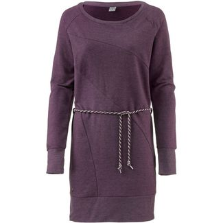 Mazine Langarmkleid Damen purple melange
