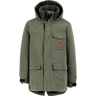 Protest Parka Kinder gravel green