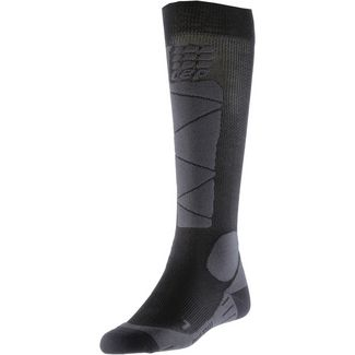 CEP Ski Merino Skisocken Damen black/anthracite