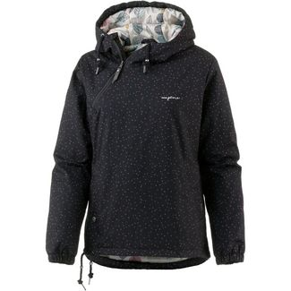 Mazine Backbeat Windbreaker Damen black snow