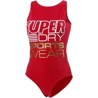 Superdry Overall Damen true red