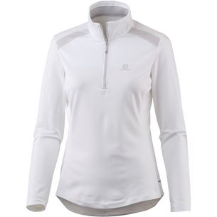 Salomon DISCOVERY Funktionsshirt Damen white