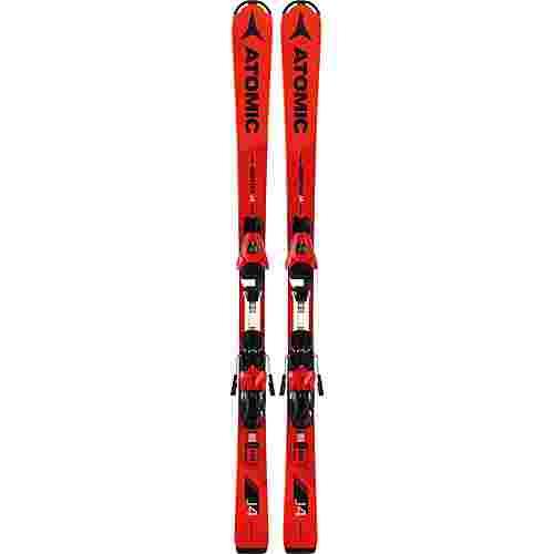 ATOMIC REDSTER J4 + L 7 ET Race Carver Kinder Red/Black