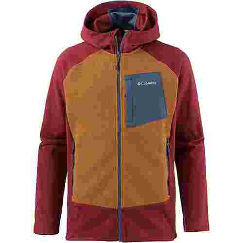 Columbia Marley Crossing Kunstfaserjacke Herren Red Element, Canyon Gold