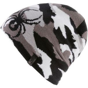 Spyder Beanie Kinder alloy-black-white