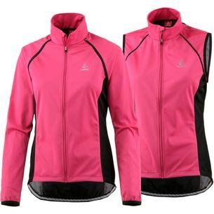Löffler San Remo WS Softshell Light Fahrradjacke Damen pink