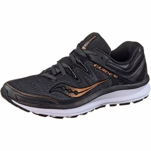 Saucony GUIDE ISO Laufschuhe Damen black-denim-copper