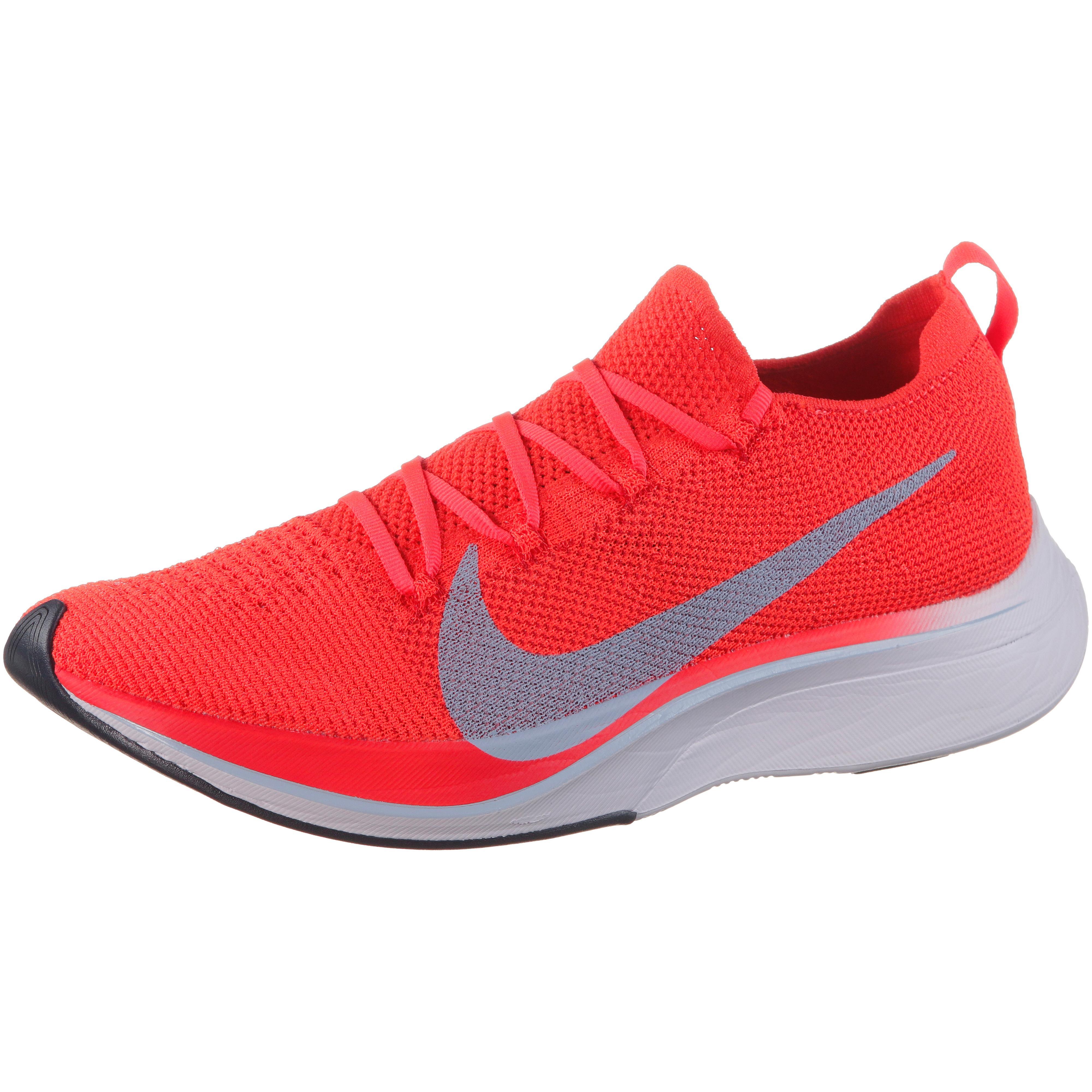 Nike VAPORFLY 4% FLYKNIT Laufschuhe bright crimson-ice blue-total  crimson-gridiron-univ red im Online Shop von SportScheck kaufen