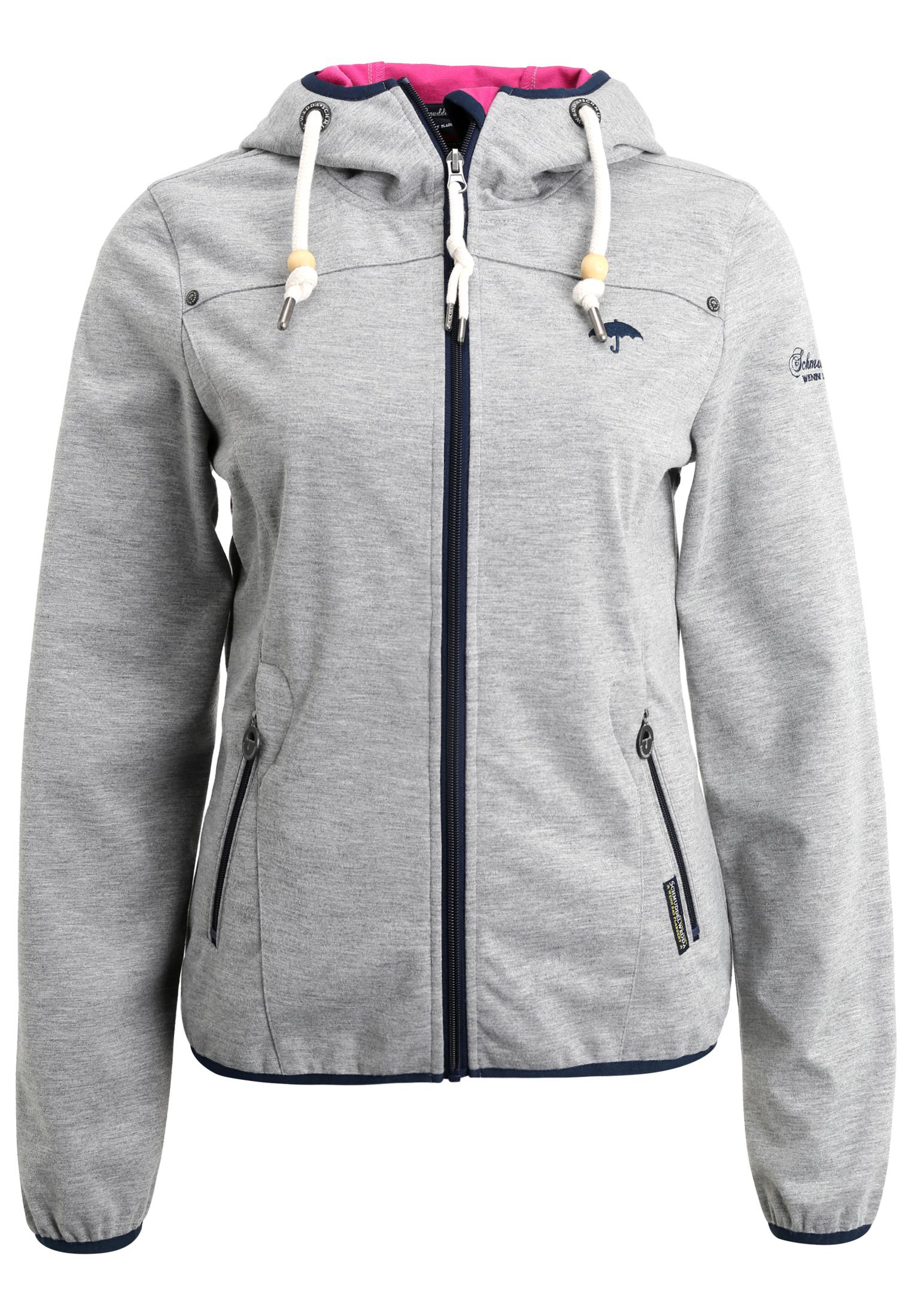 Outdoorjacke damen grau