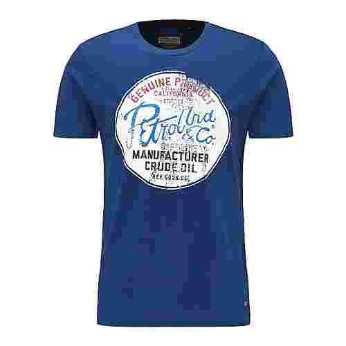 Petrol Industries Printshirt Herren Royal Blue