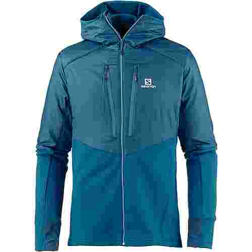 Salomon DRIFTER AIR Funktionsjacke Herren moroccan blue reflecting pond