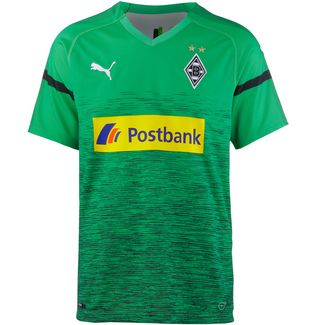 PUMA Borussia Mönchengladbach 18/19 Ausweich Fußballtrikot Herren bright green-puma black