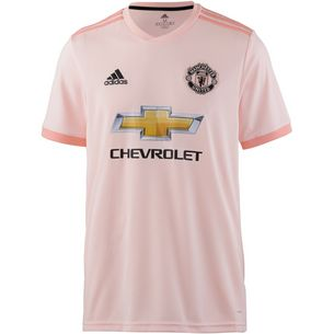 adidas Manchester United 18/19 Auswärts Fußballtrikot Herren icey pink