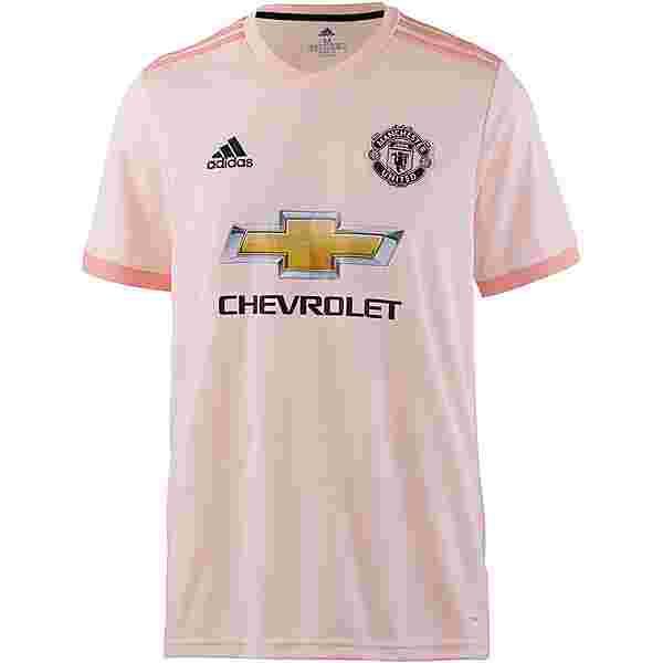 adidas Manchester United 18/19 Auswärts Trikot Herren icey pink