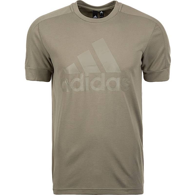 Adidas Id Stadium Badge Of Sport T Shirt Herren Beige Im Online Shop