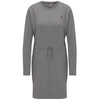 DreiMaster Jerseykleid Damen grau melange