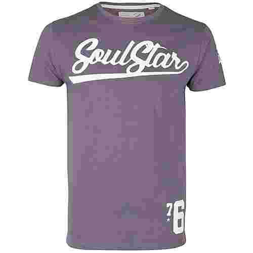 Soulstar Printshirt Herren dunkelgrau