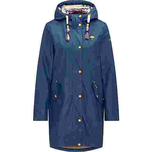 Schmuddelwedda Regenjacke Damen dunkelblau