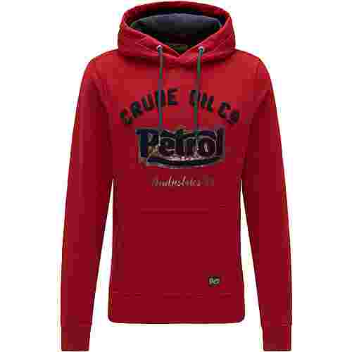 Petrol Industries Sweatshirt Herren Biking Red