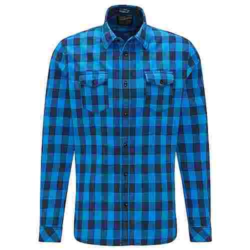 Petrol Industries Langarmhemd Herren Daytona Blue