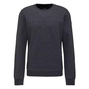DreiMaster Sweatshirt Herren grau melange